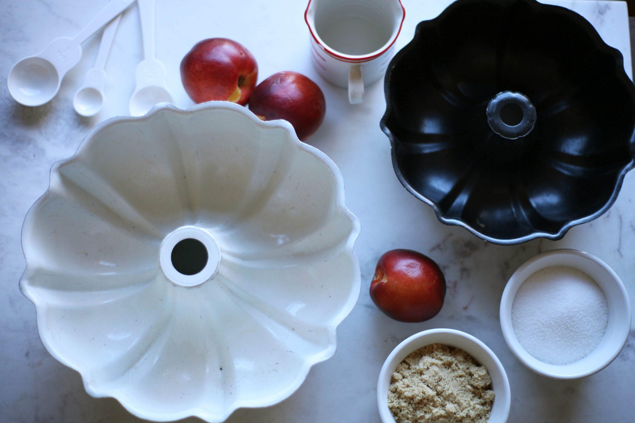 Stone Fruit Upside Down Cake - Tastemaker Blog