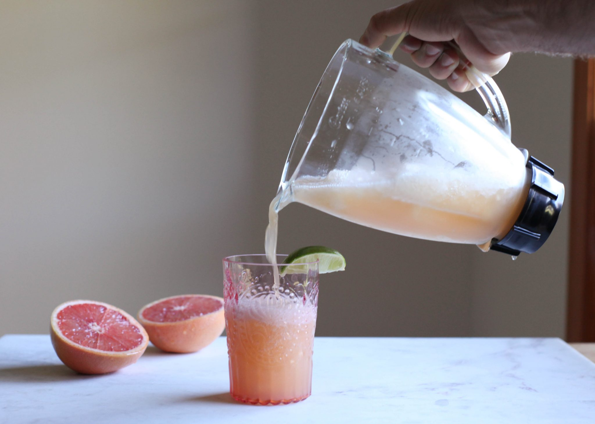 Greyhound Slushie with Basil - Tastemaker Blog