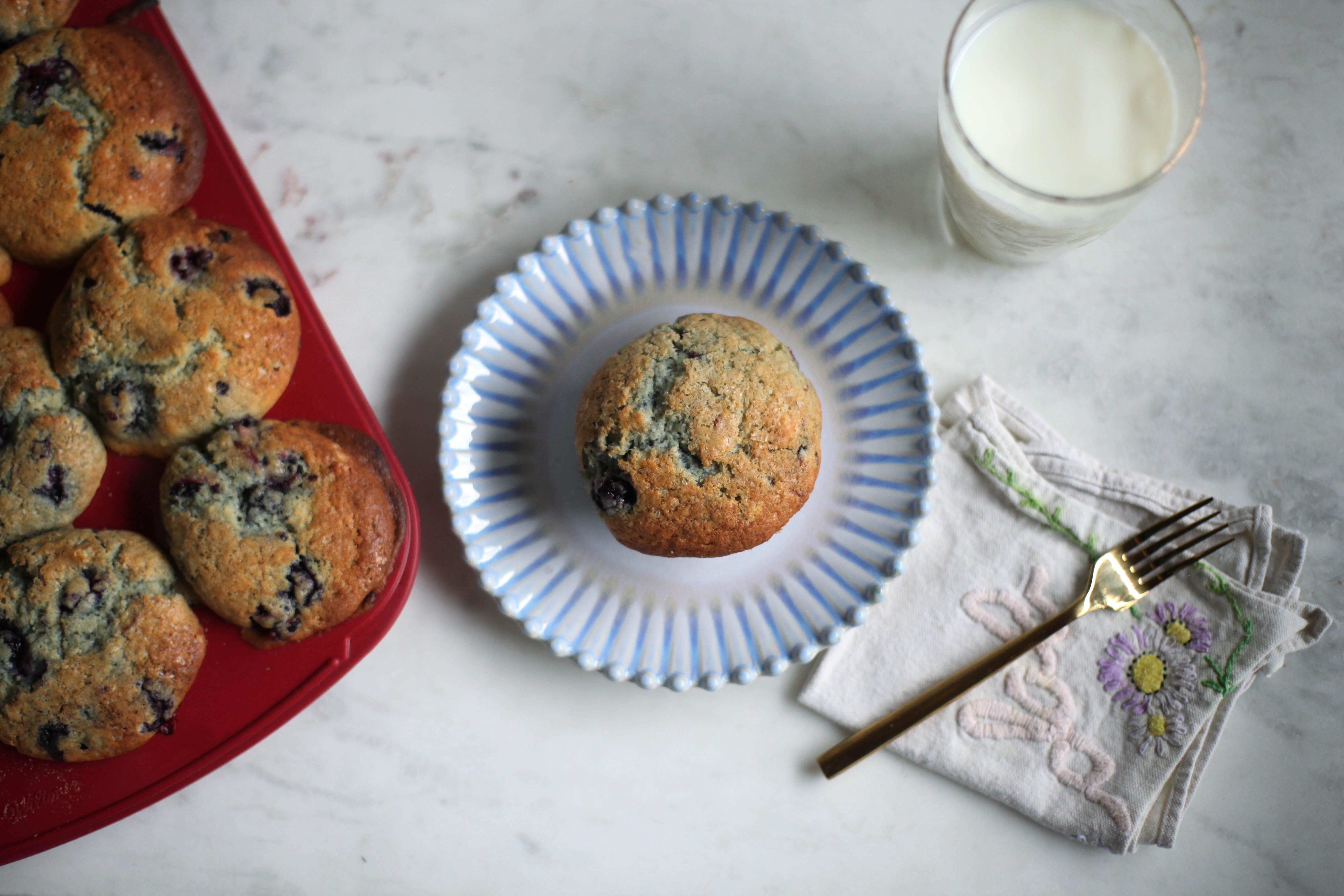 Mixed Berry Muffins - Tastemaker Blog