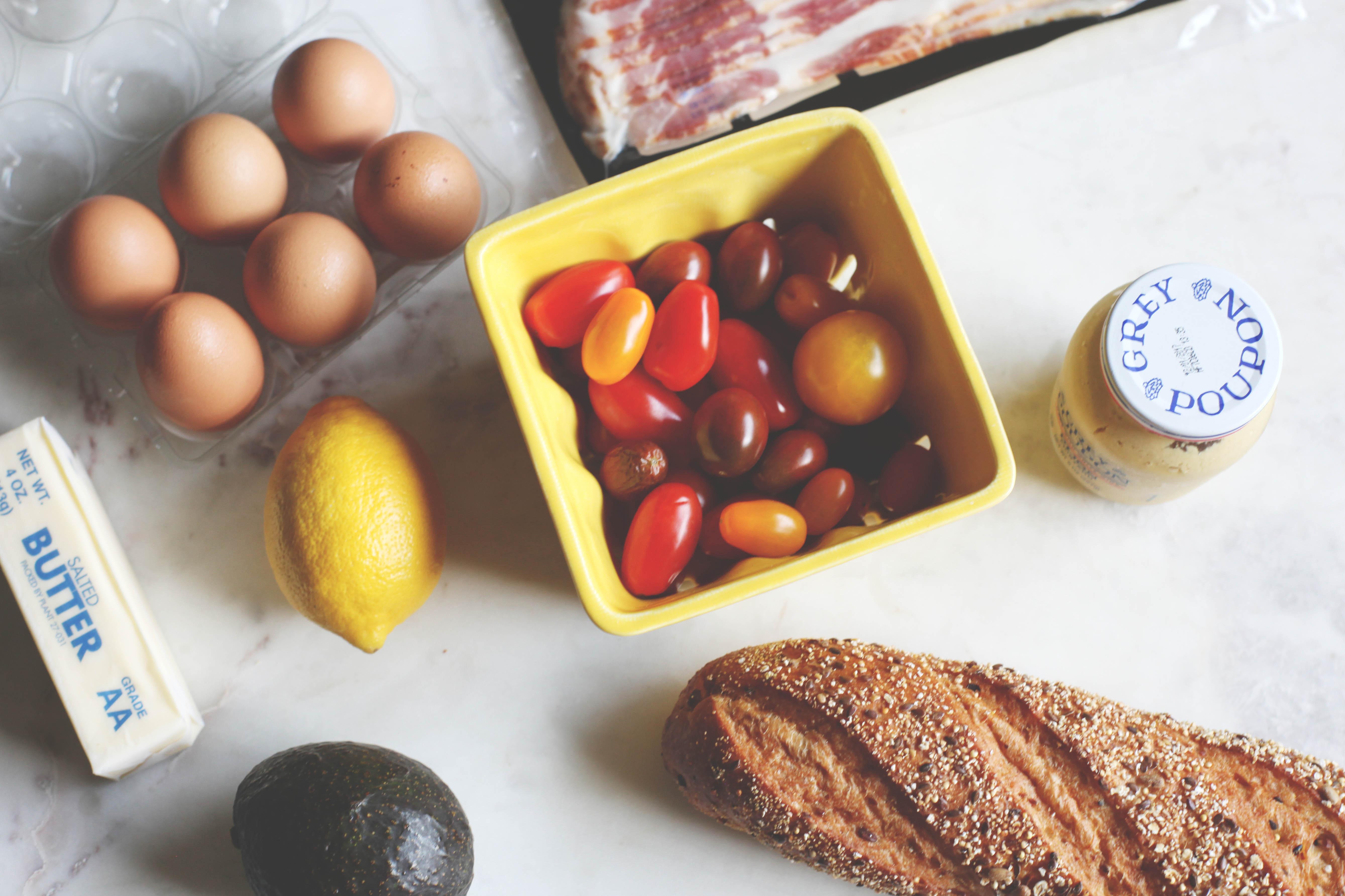 BLT Eggs Benedict with Blender Hollandaise - Tastemaker Blog