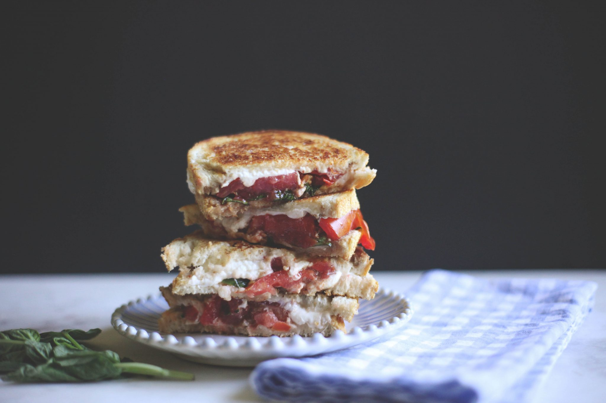 Caprese Grilled Cheese - Tastemaker Blog