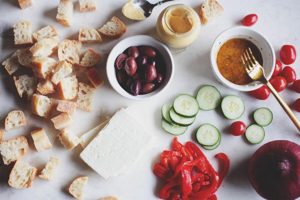 Greek Panzanella - Tastemaker Blog