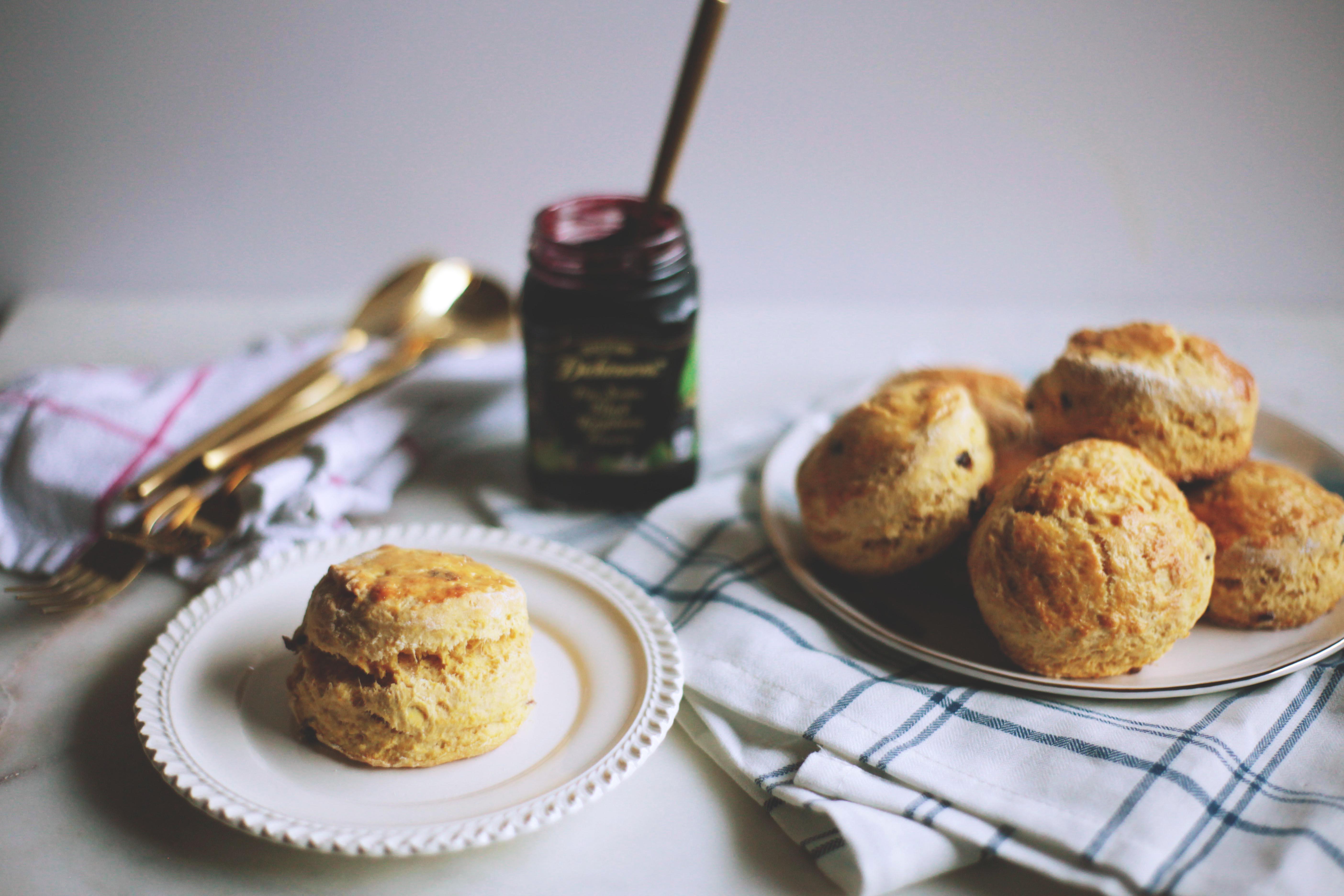 Pumpkin Cranberry Scones - Tastemaker Blog
