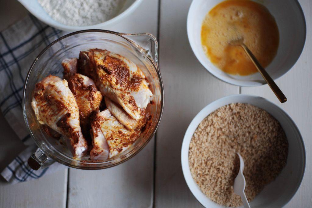 Curry Oven Fried Chicken - Tastemaker Blog