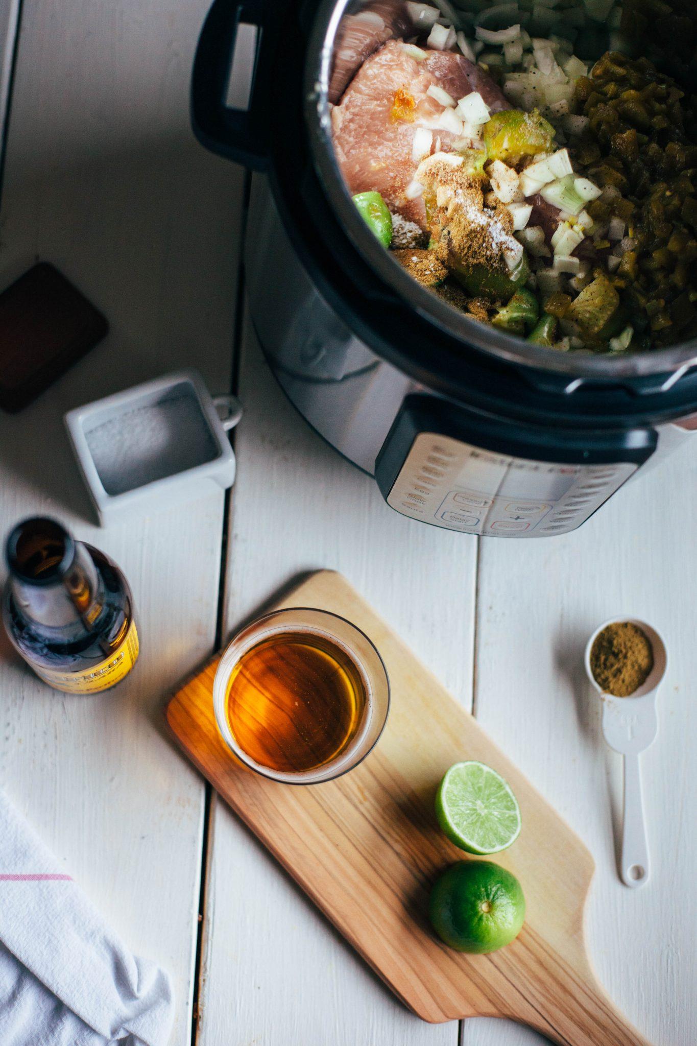 Instant Pot Green Chile Pork Carnitas - Tastemaker Blog