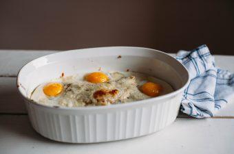 Chilaquiles Breakfast Casserole - Tastemaker Blog