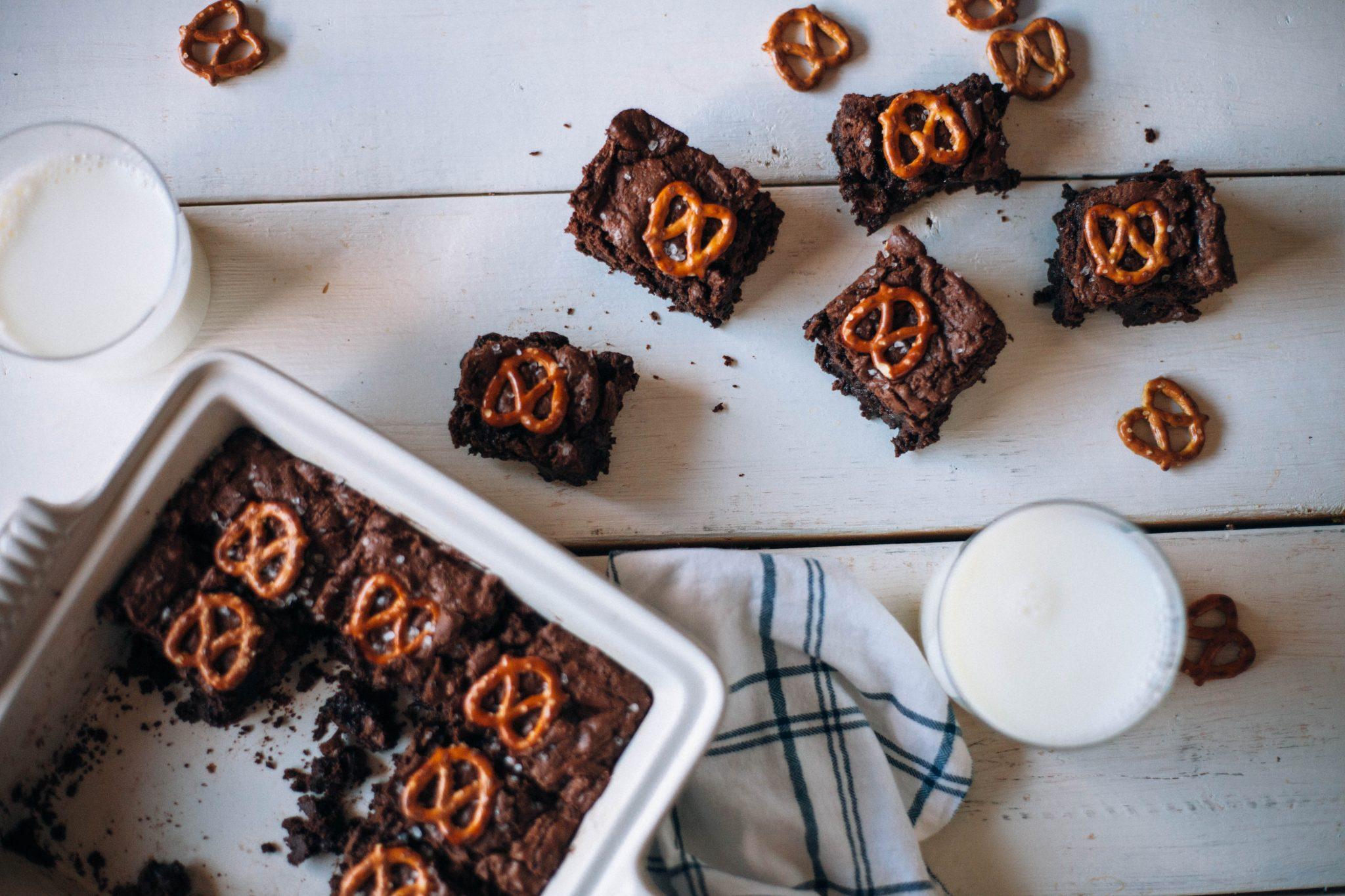 Pretzel Brownies - Tastemaker Blog
