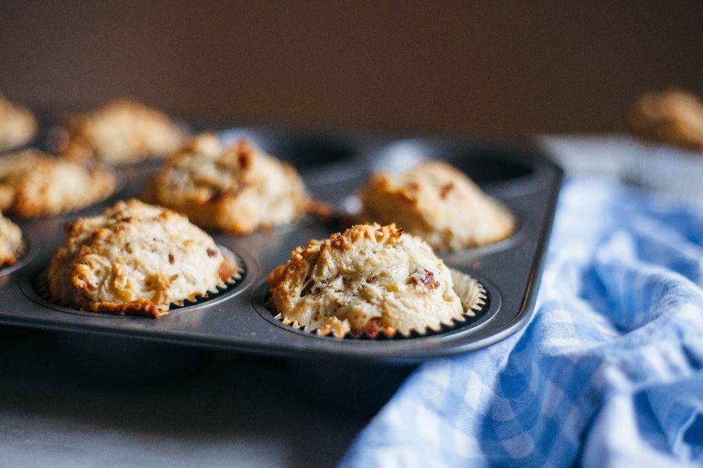 Savory Gouda Breakfast Muffins - Tastemaker Blog