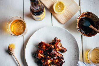 Honey Harissa Wings - Tastemaker Blog