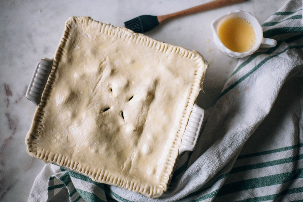 Vegetable Pot Pie - Tastemaker Blog