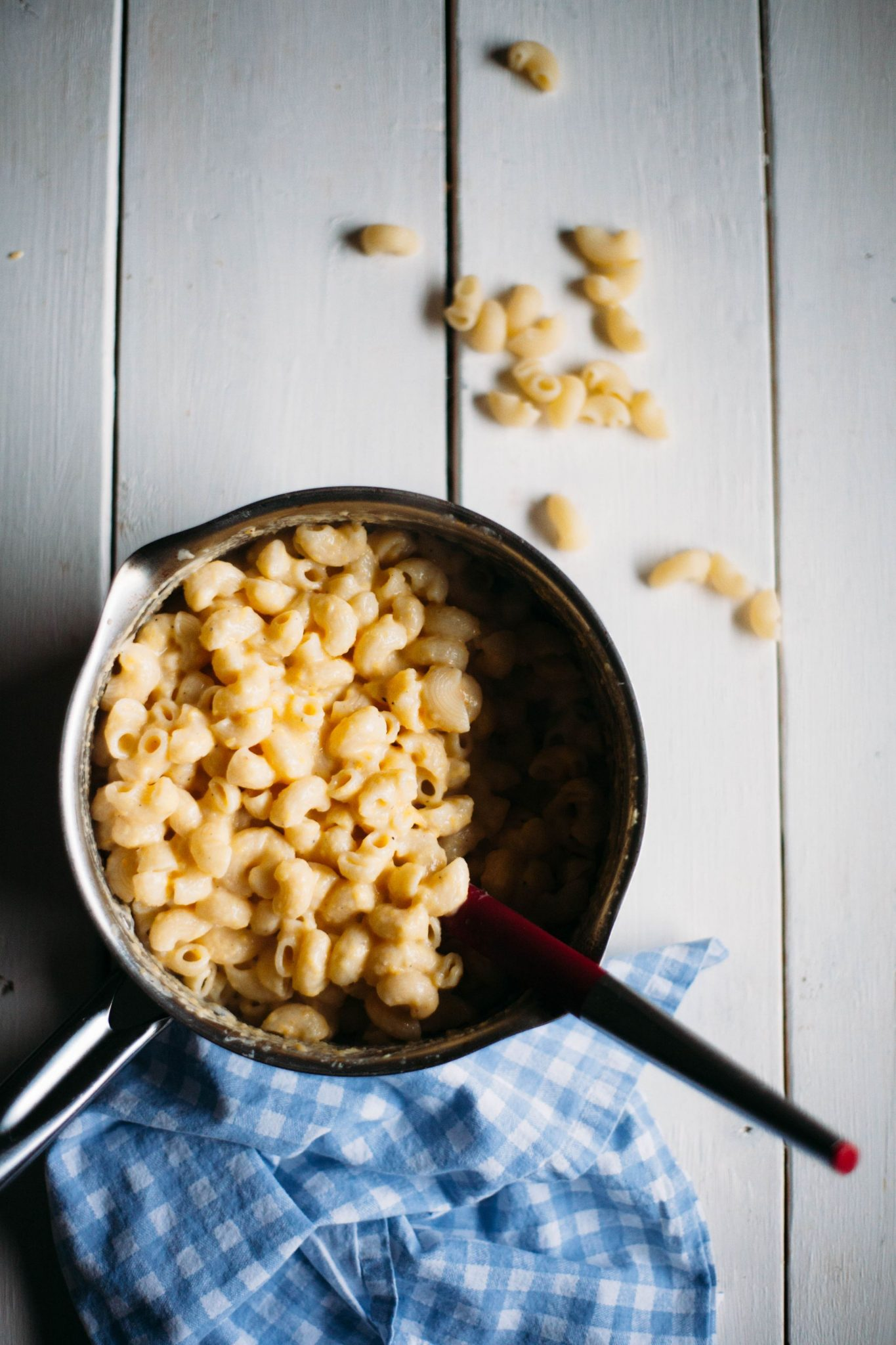 Seven Ingredient Butternut Squash Macaroni and Cheese - Tastemaker Blog