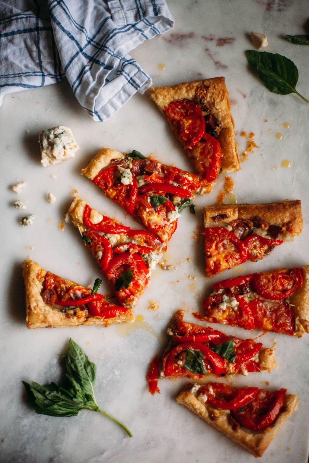 Blue Cheese and Tomato Tart - Tastemaker Blog