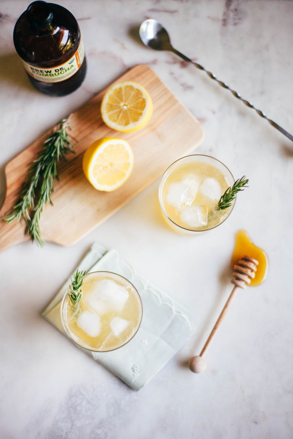 Kombucha Ginger Honeybee - Tastemaker Blog