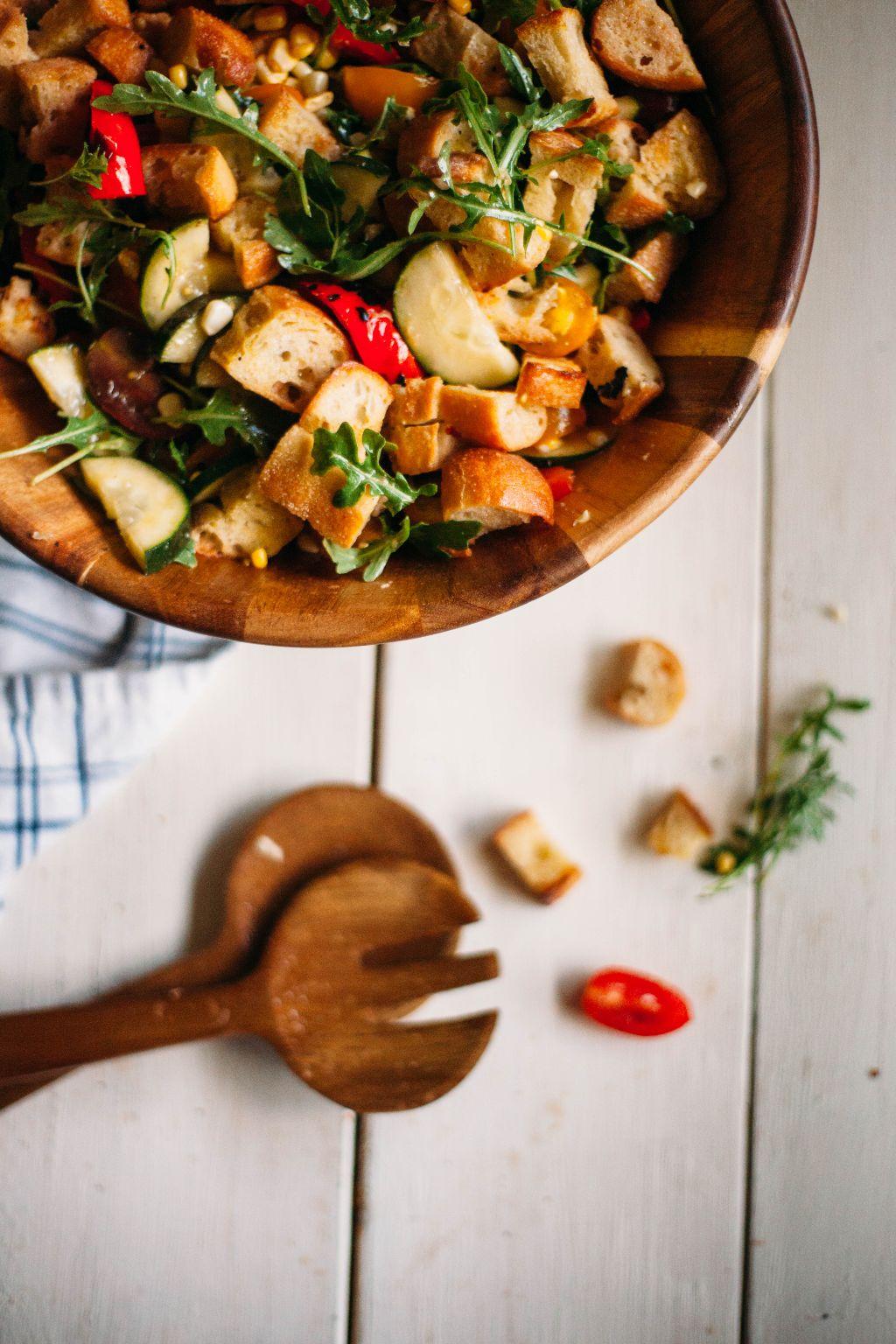 Summer Panzanella Salad - Tastemaker Blog