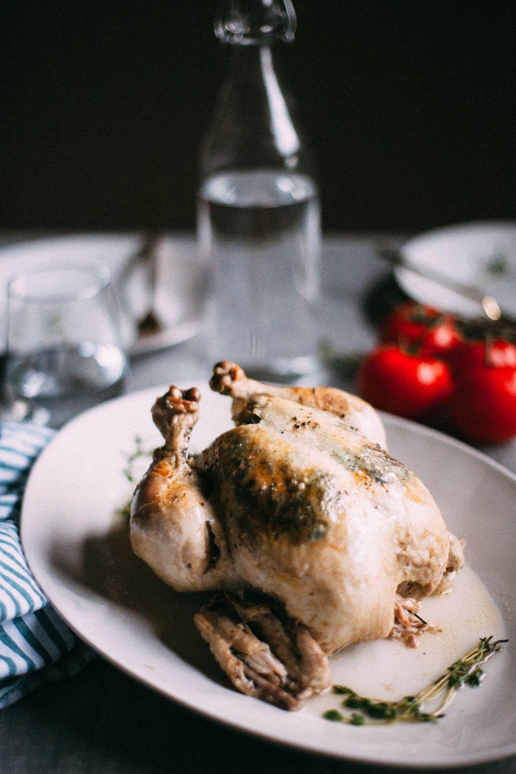 Instant Pot Whole Herb Roasted Chicken - Tastemaker Blog