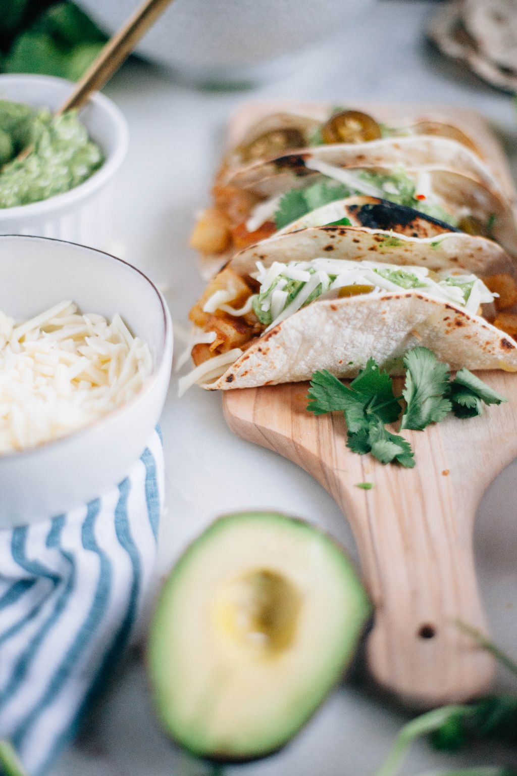 Crispy Potato Tacos - Tastemaker Blog