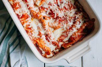 Easy Five Ingredient Chicken Enchiladas- Tastemaker Blog