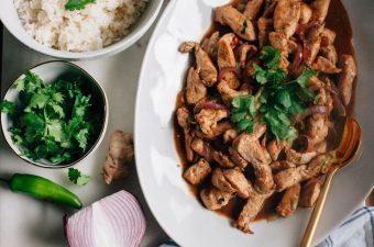 Spicy Burmese Chicken Stir Fry - Tastemaker Blog