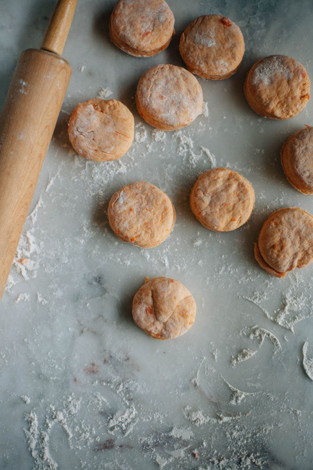Sweet Potato Biscuits with Sorghum Butter - Tastemaker Blog
