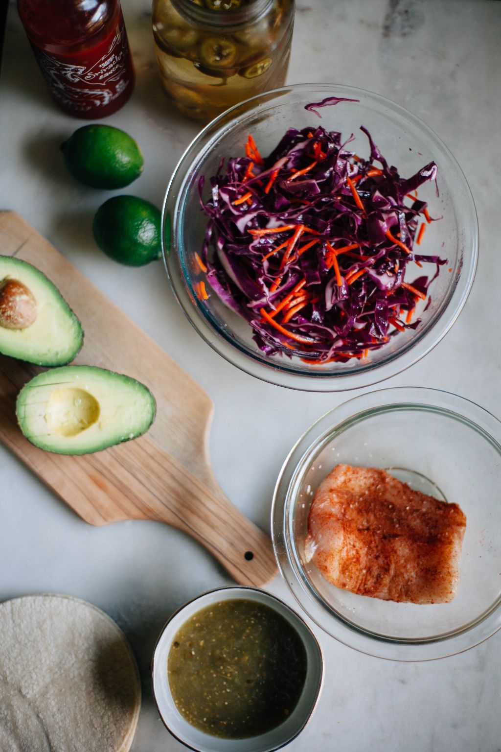 Easiest Ever Fish Tacos with Cabbage Slaw - Tastemaker Blog