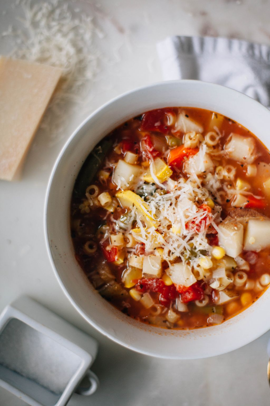 Summer Vegetable Minestrone - Tastemaker Blog