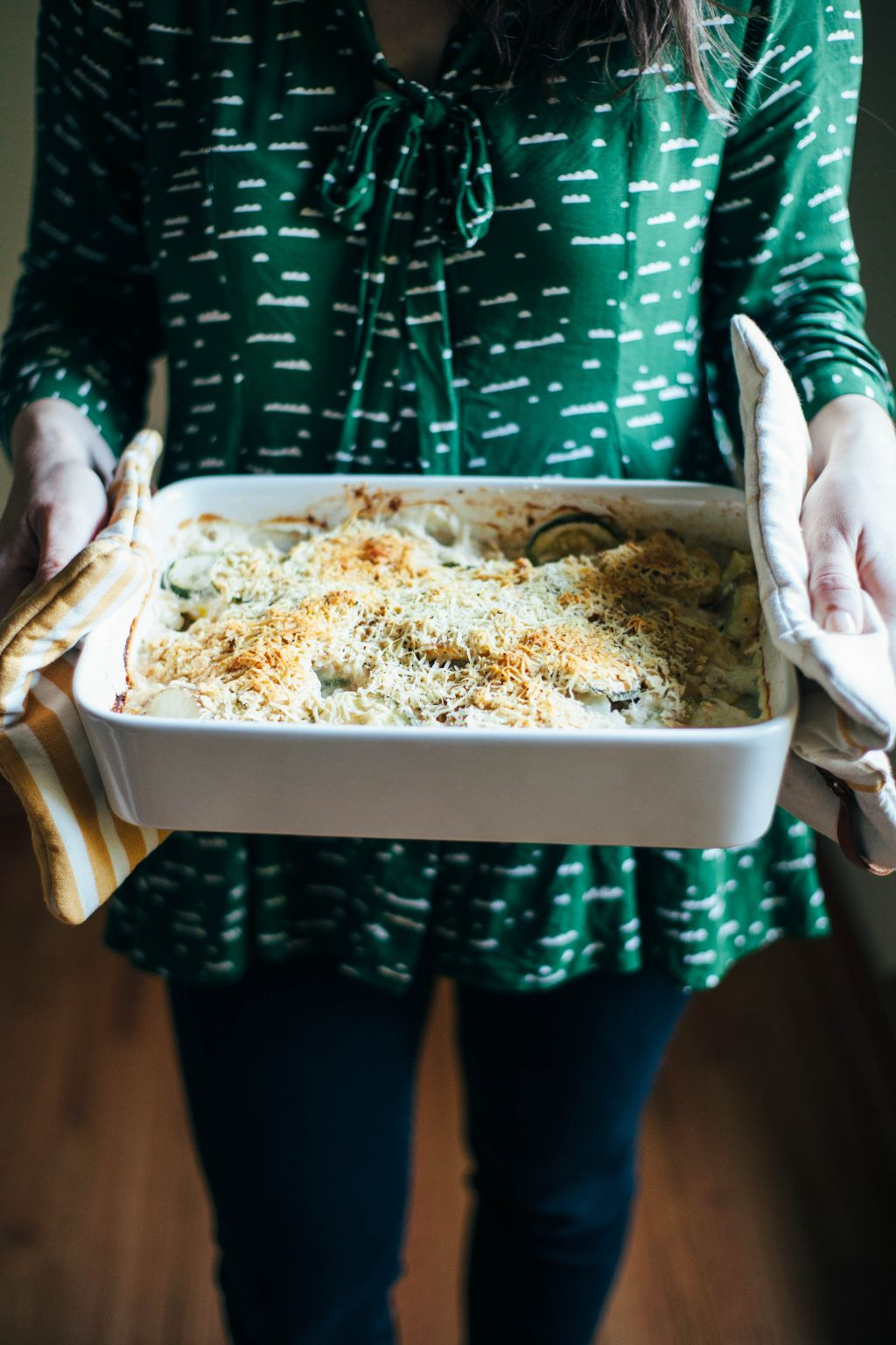 Cheesy Squash Gratin - Tastemaker Blog