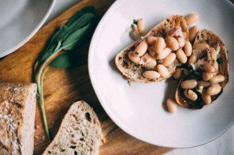 White Beans with Sage on Toast - Tastemaker Blog