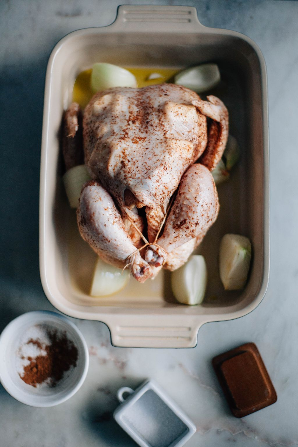 Pumpkin Pie Spiced Chicken with Butternut Squash - Tastemaker Blog