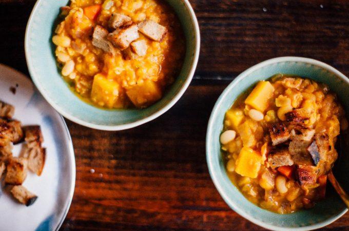 Pumpkin Lentil Stew - Tastemaker Blog