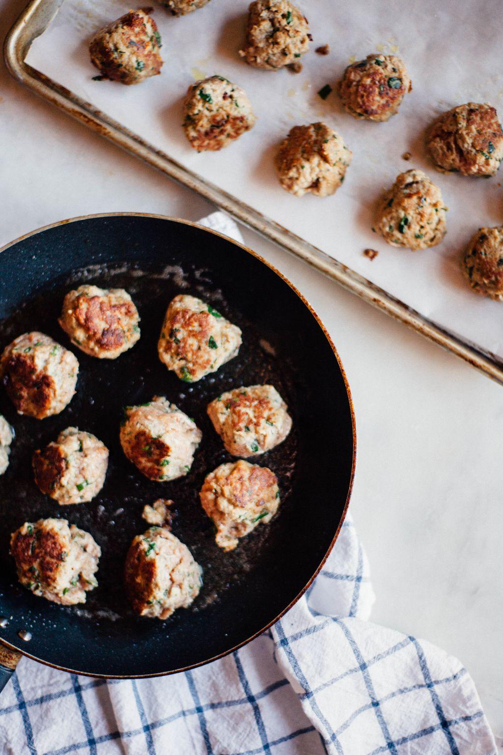 Game Night Turkey Meatballs - Tastemaker Blog