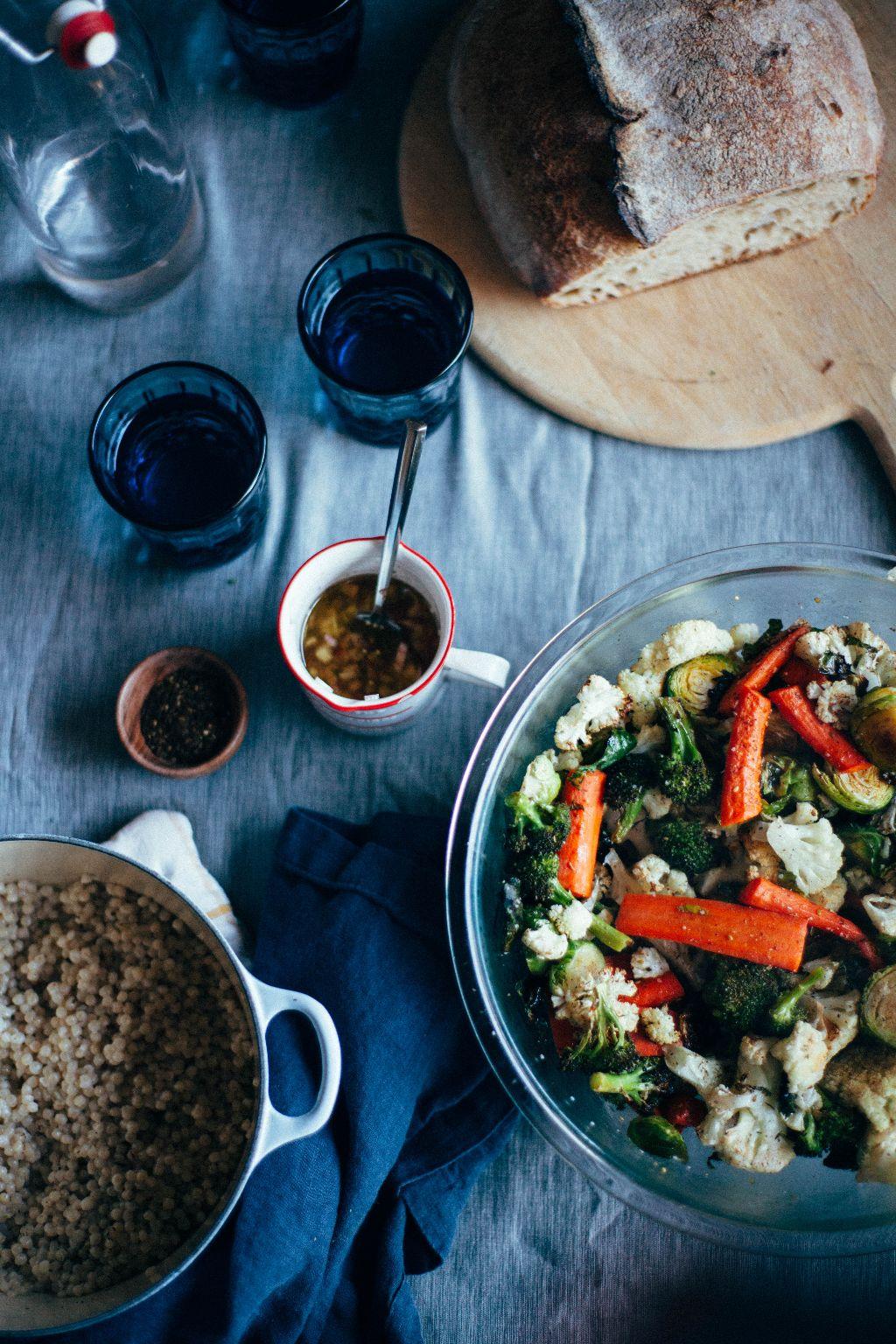 Roasted Vegetable Salad - Tastemaker Blog