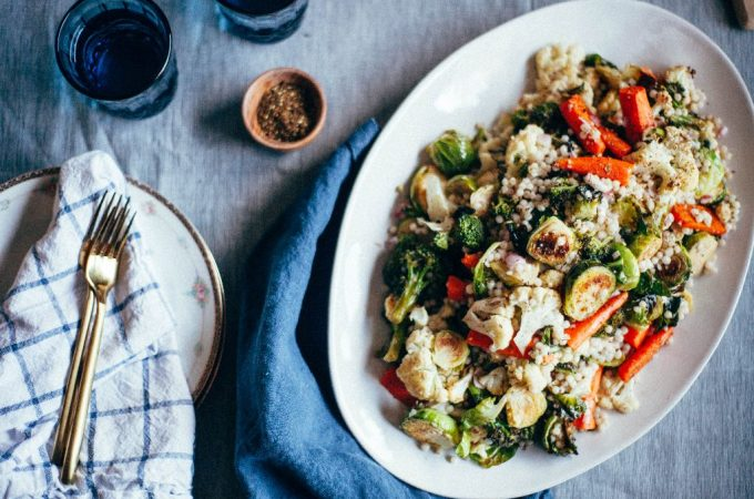 Roasted Vegetable Salad - Tastemaker Blog