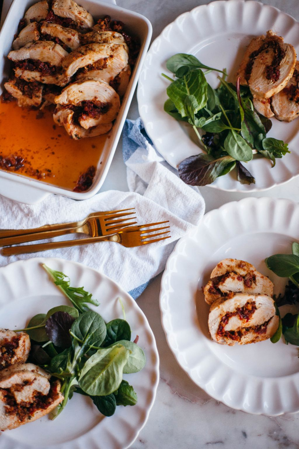 Chicken Roulade- Tastemaker Blog