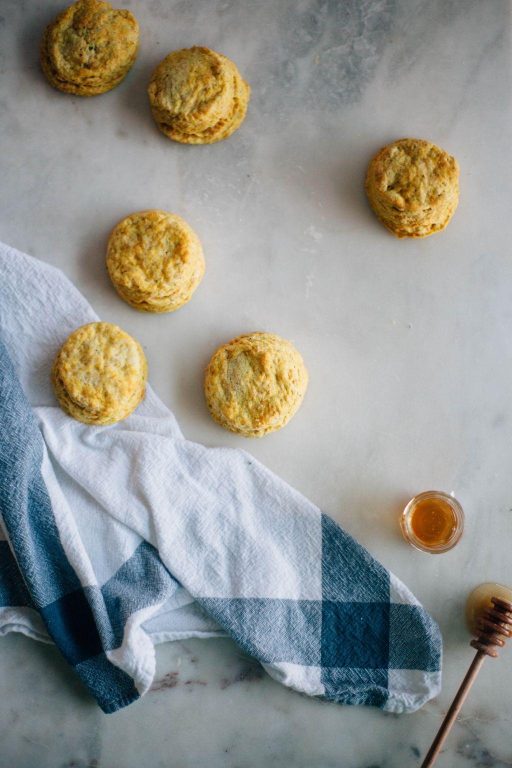 Curry Poppyseed Biscuits - Tastemaker Blog