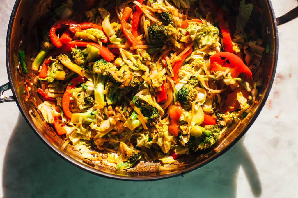 Asian Noodle Stir Fry - Tastemaker Blog