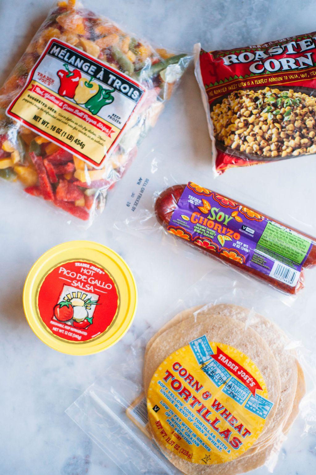 Trader Joes Soyrizo Tacos - Tastemaker Blog