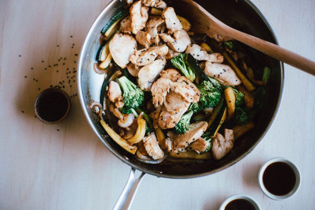 Ten Dollar Meal: Teriyaki Chicken Stir Fry - Tastemaker Blog