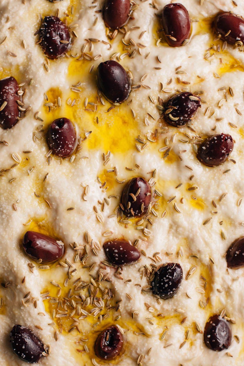 Olive and Fennel Focaccia - Tastemaker Blog