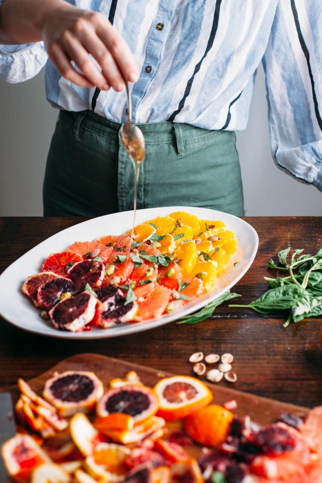 Ombré Citrus Salad - Tastemaker Blog