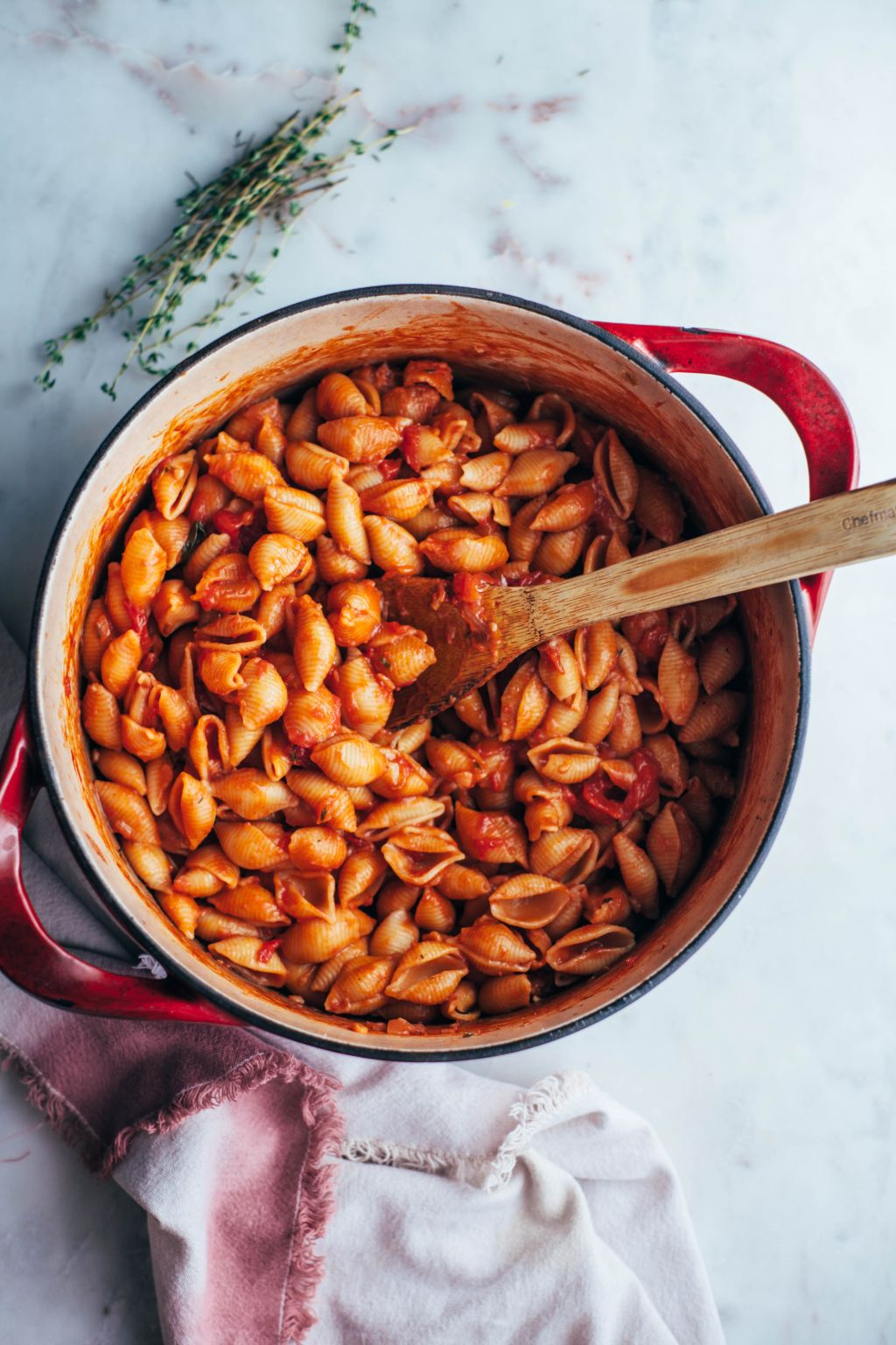 The Easiest One Pot Pasta - Tastemaker Blog