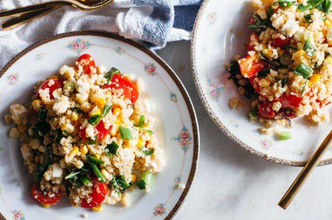 Summer Quinoa Salad - Tastemaker Blog