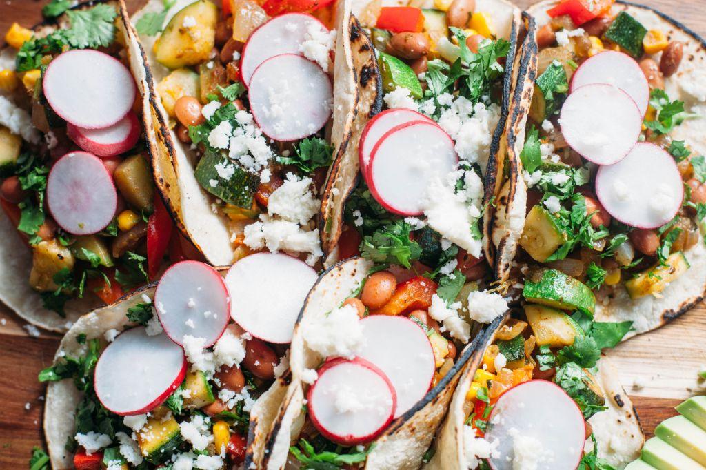 Summer Veggie Tacos - Tastemaker Blog