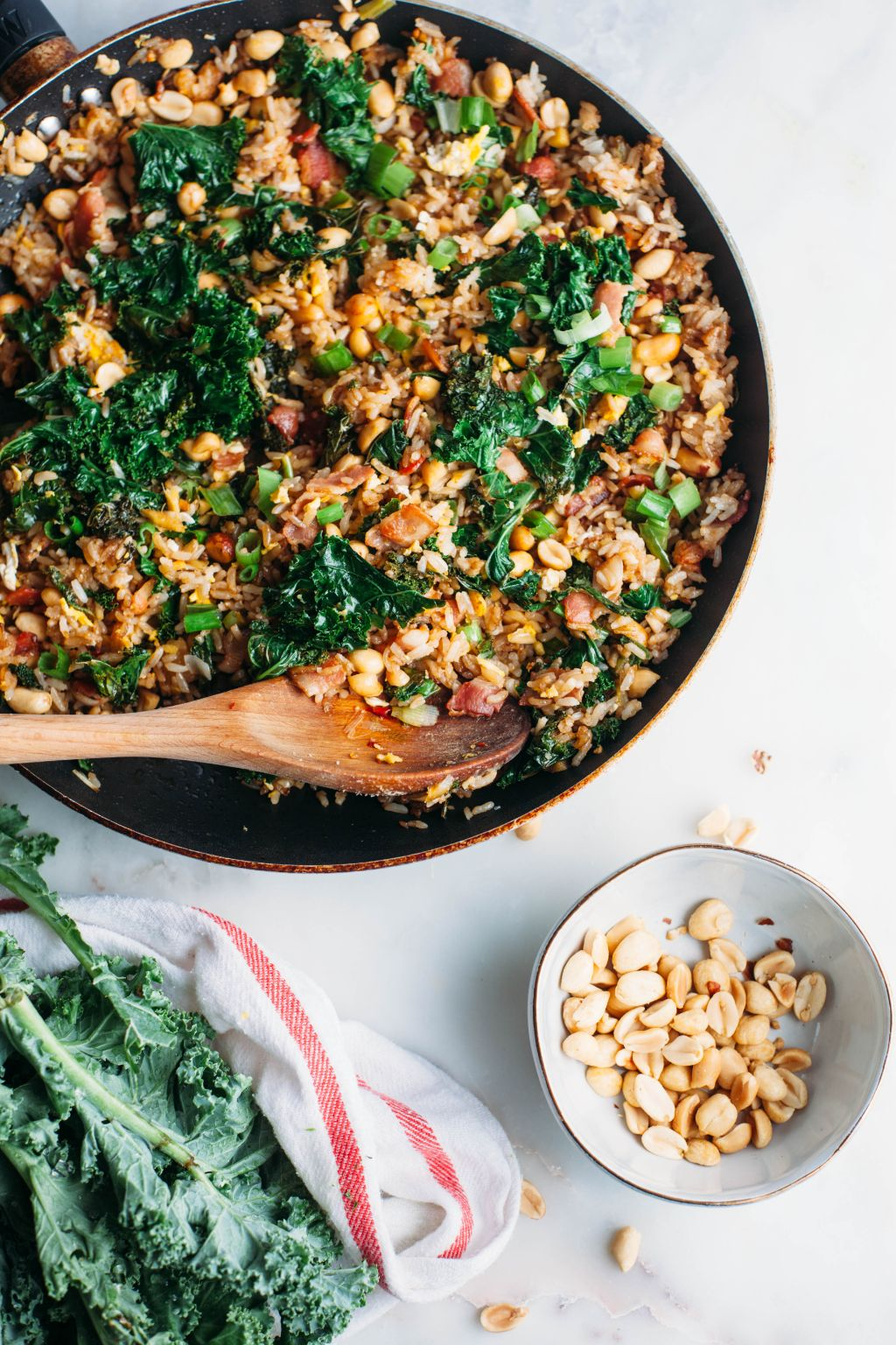 Peanut and Bacon Fried Rice - Tastemaker Blog