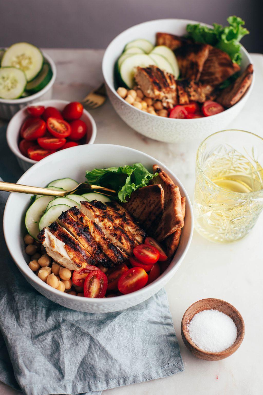 Chicken Shawarma Bowls - Tastemaker Blog