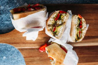 Roasted Vegetable Sandwich - Tastemaker Blog