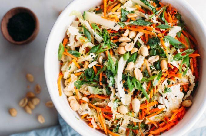 Sesame Carrot Crunch Salad - Tastemaker Blog