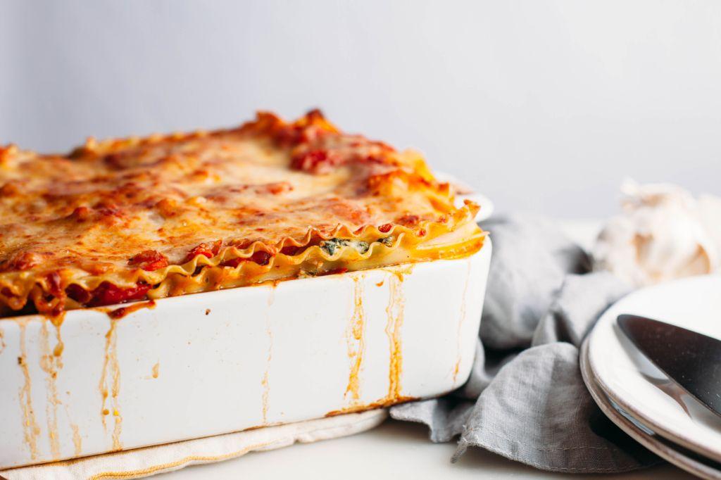 Vegetable Lasagna - Tastemaker Blog