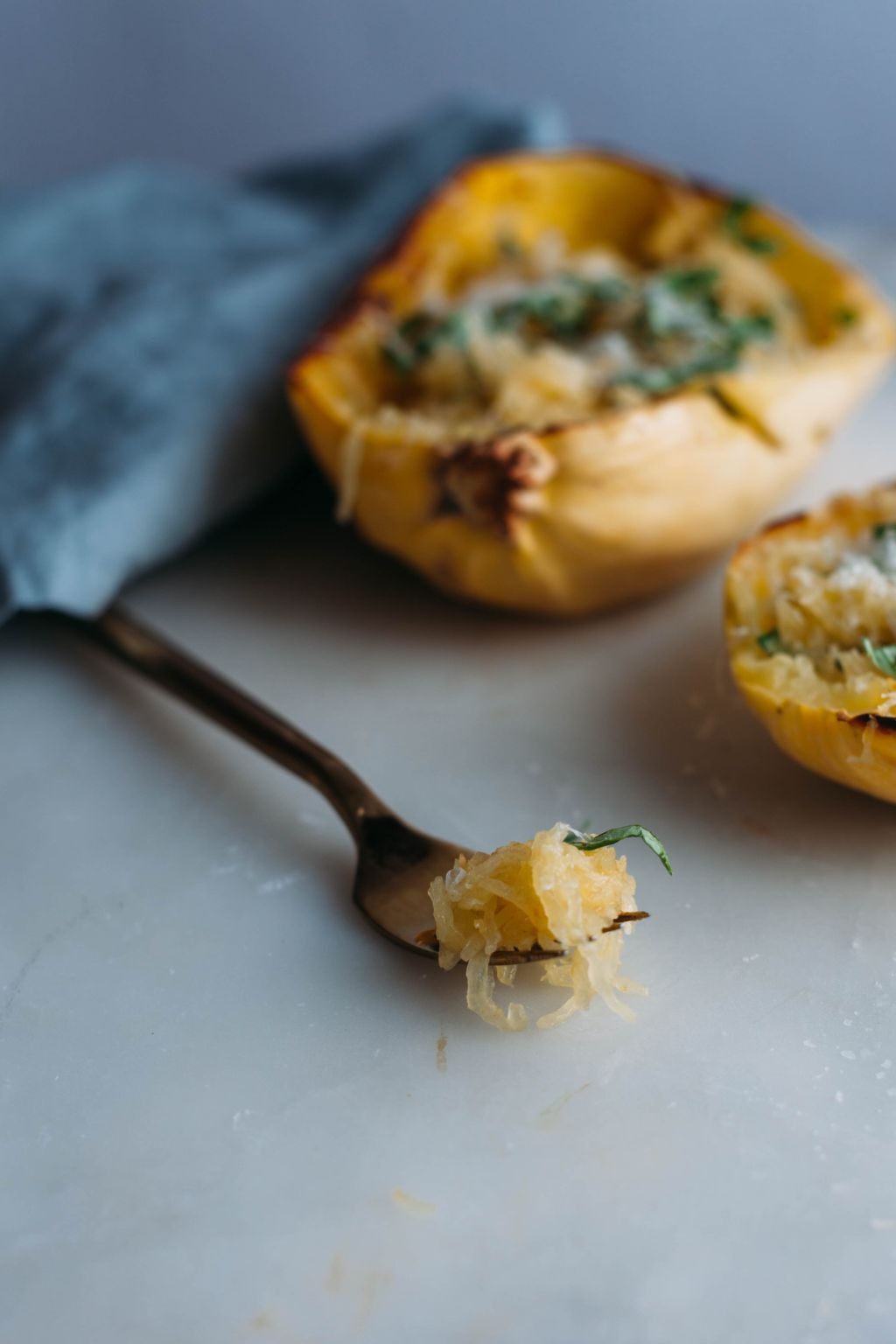 Spaghetti Squash with Brown Butter and Lemon - Tastemaker Blog