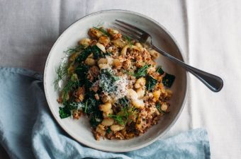 Toasted Gnocchi with Sausage and Fennel - Tastemaker Blog