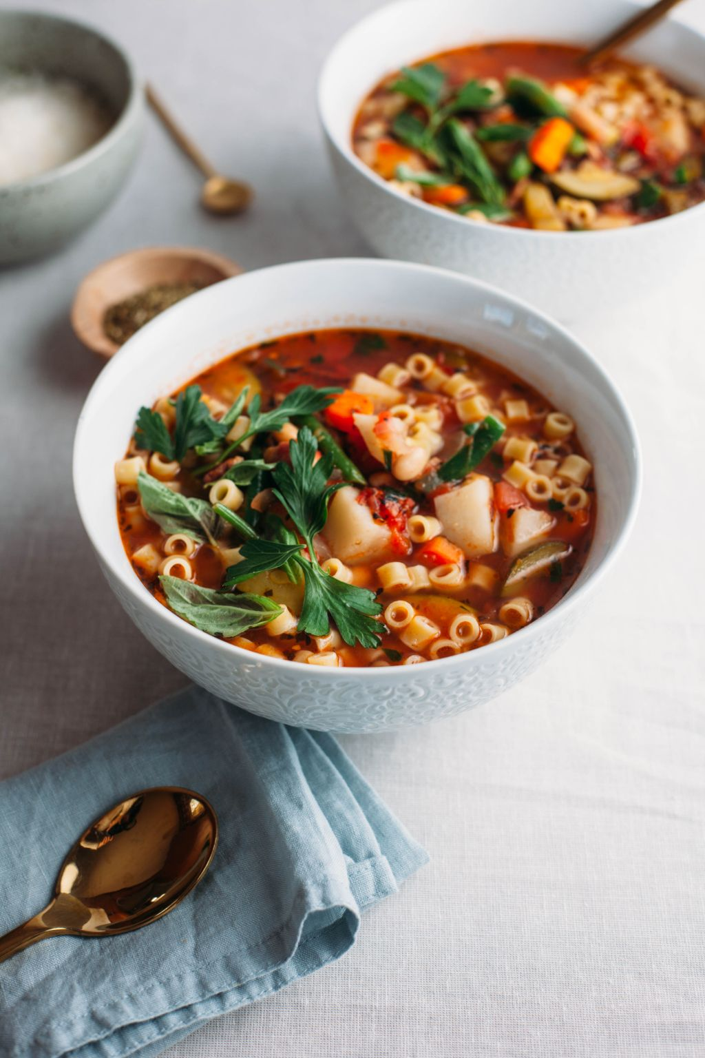 Minestrone with Smoky Bacon - Tastemaker Blog
